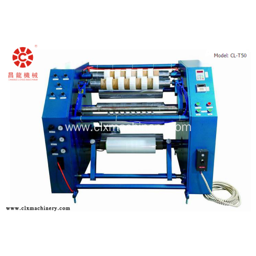 Stretch Film Rewinding Slitter