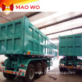 Grain Dump Tri-axle Rear Tipper Trailer