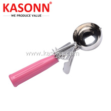Stainless Steel Pemicu Ice Cream Disher Makanan
