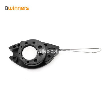 Best Quality Plastic FTTH Clamp Fish Wire Clamp Suspension Anchor