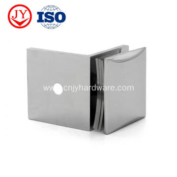 90 Degree Wall Mount Shower Hinge Panel Clamp