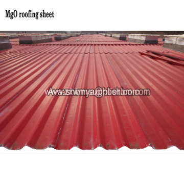 Green Roofing Fireproof Non-Asbestos MgO Roof Sheet