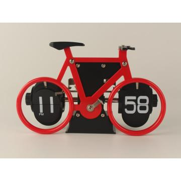 Bike Mode Flip Desk Clock for Decoration