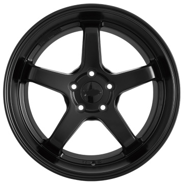 Flat black wheel rim Replica