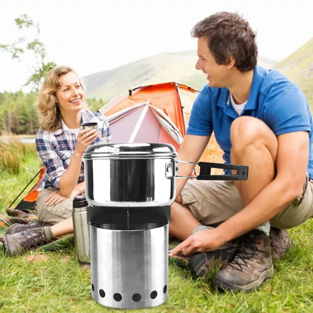 2020 New Outdoor Fireplace Stainless Steel Multi-purpose Mini Stove Home Electronic Accessories Heating Element