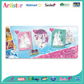 DISNEY PRINCESS canvas coloring set