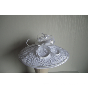 NEW-Women's Satin Church Fascinators Hats --YJ90