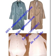 Military Wool Great Coat Military Wool Overcoat Military Woolen Long Coat