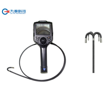 4ways articulating video borescope with lens 6mm