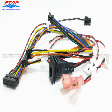 Wire Harness Assembly Manufacturing with DC Jack Power