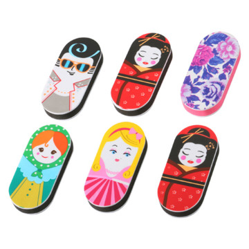 Beautiful Gift Cute Doll Pattern Nail File