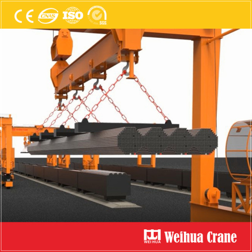 RTG for Steel Pipe Handling