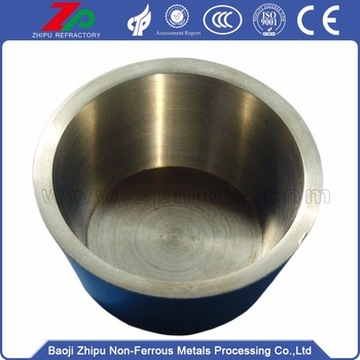 High temperature resistance silver gray Tungsten crucible
