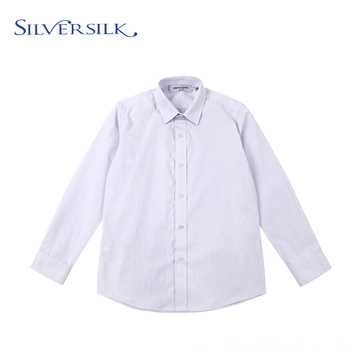 Customized Spring Formal Unique Dobby Poly Cotton Shirt
