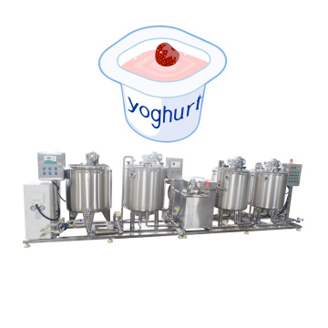 500LPH Small Fresh Milk Yogurt Processing Line Equipment