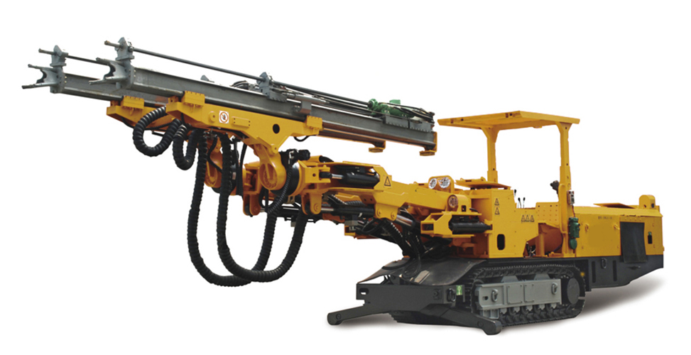 Crawler Double-arm Tunneling Jumbo