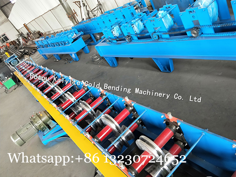 sliding door guide track machine