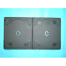 pp case pp box pp cover 7mm short double black with design