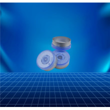 Aluminium and plastic cap for contact lens
