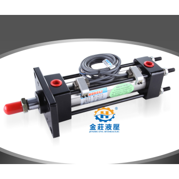 Tie rod hydraulic cylinders used in machine tools