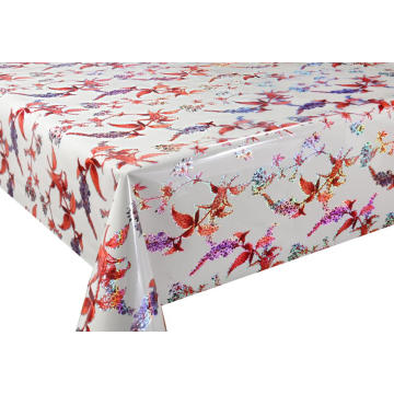Laser Coating Pvc Table cloths