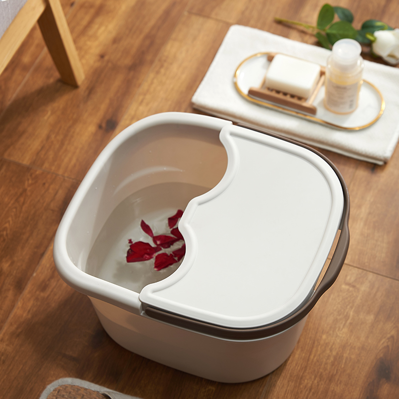Plastic foot washing bucket