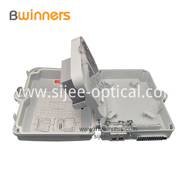 Optical Fiber Distribution Box With Plc Fiber Splitter