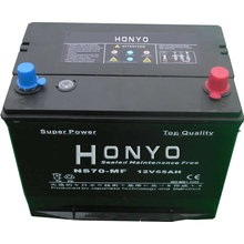 NS70MF Car Maintenance Free Batteries