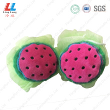 Absorbent mesh toys bath sponge ball