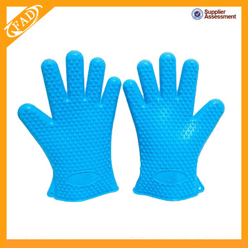 Heat Resistant Silicone gloves for barbecue