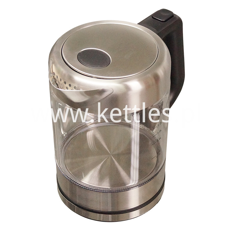 Glass Kettle With Temperature Control