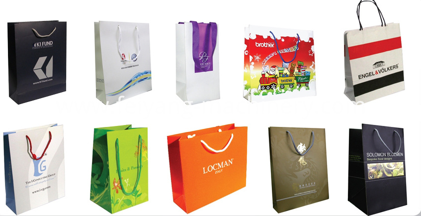 luxury gift paper bag