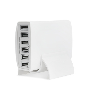 Multi-funtions Stand 6 Port USB Charger 60w