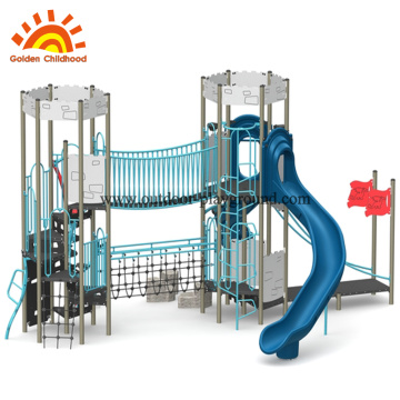 Castle Outdoor Playground Equipment Stainless Steel