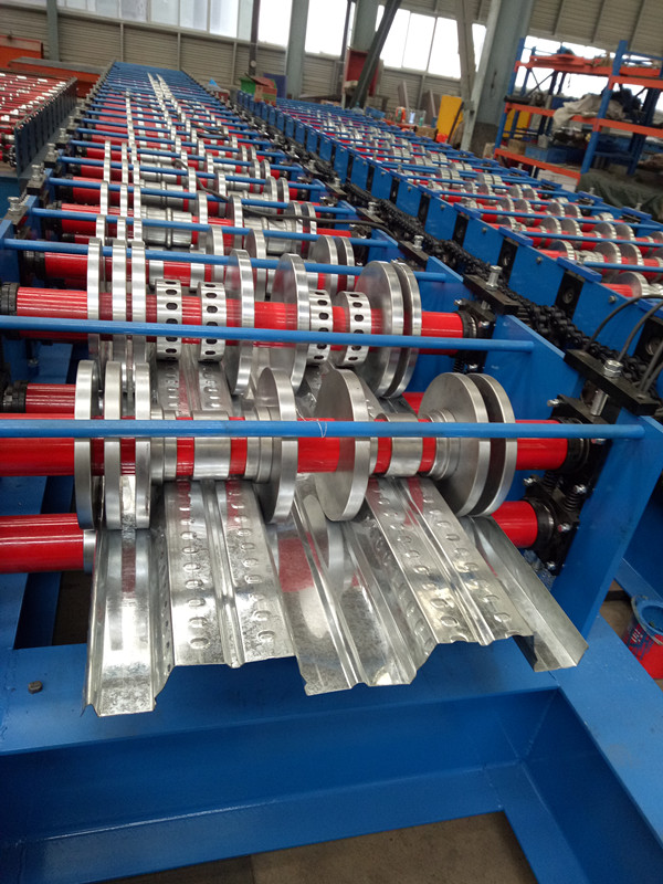 Composite Floor Decking Sheet Roll Forming Machine