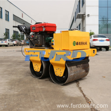 Walk-behind Concrete Vibratory Double Drum Road Roller In Stock YL-S600CS