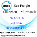 Shenzhen Port Sea Freight Shipping To Murmansk
