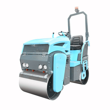 Mini Road Roller with Vibratory Smooth Drum