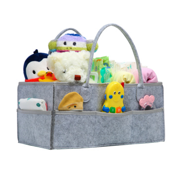 China factory popular grey mummy baby diaper bag