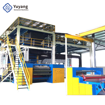2400mm Three Beam Spun-bonded Nonwoven Lines