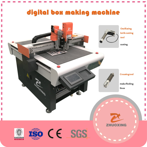 CNC Knife Cutting Machine For Packingbox