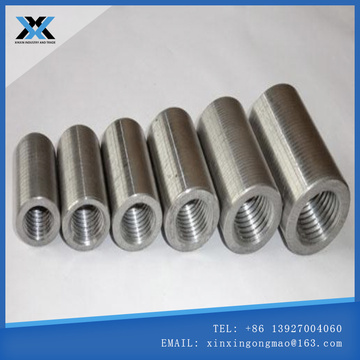 Steel straight thread sleeve