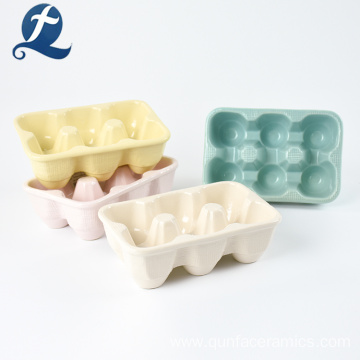 Restaurant And Hotel Use Ceramic Egg Crate