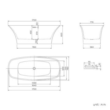 wholesale small white freestanding bathtub for sale