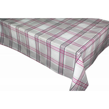Elegant Tablecloth with Non woven backing Unwrinkle