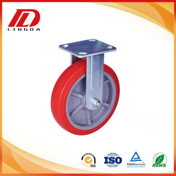 200kg plate caster fixed wheels