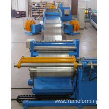 simple steel coil slitting line