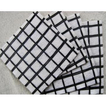 Geocomposite Fiberglass Geogrid for road reinforcement