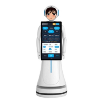 Hotel Robots Interactive with People