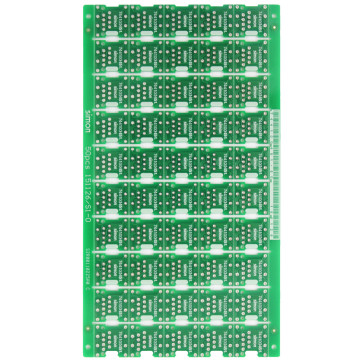 Small size double layer circuit boards